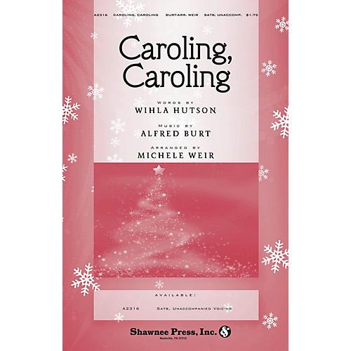 Shawnee Press Caroling, Caroling SATB a cappella arranged by Michele Weir-thumbnail