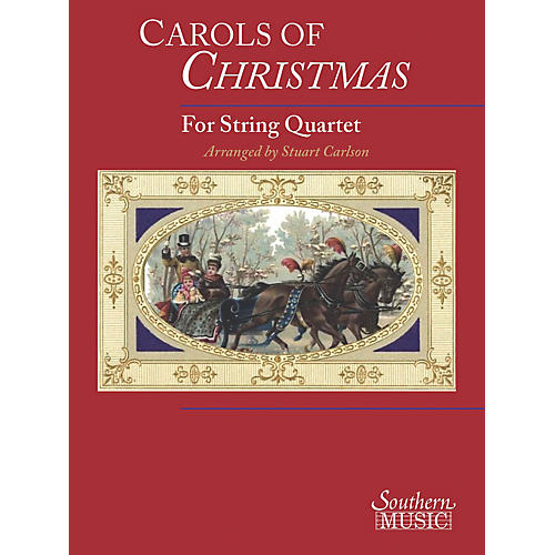 Southern Carols of Christmas for String Quartet Southern Music Series-thumbnail