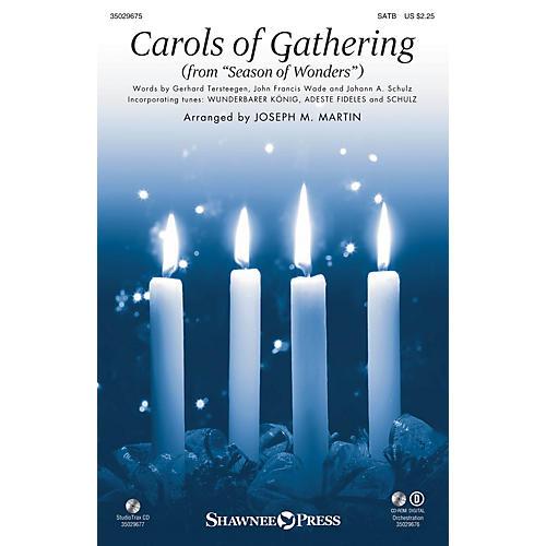 Shawnee Press Carols of Gathering (from Season of Wonders) Studiotrax CD Arranged by Joseph M. Martin-thumbnail