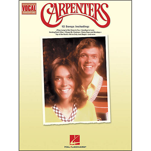 Hal Leonard Carpenters Note-for-Note Vocal Transcriptions-thumbnail