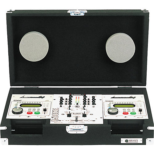 Odyssey Carpeted DJ Case for (2) ADJ-1/2/3S And (1) 10