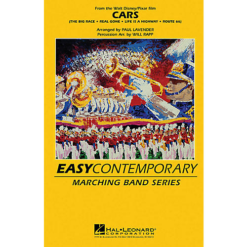 Hal Leonard Cars Marching Band Level 2 Arranged by Paul Lavender and Will Rapp