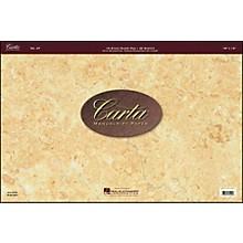 Hal Leonard Carta 27 Scorepad 18X12, 40 Sheet, 16 Stave Carta Manuscript