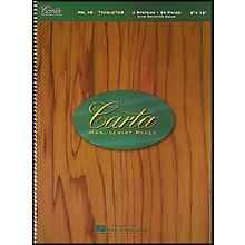 Hal Leonard Carta Manuscript Paper # 10 - Spiralbound, 9 X 12, 64 Pages, Trbl/Tab, 4 Dbl Staves includes Guitar Notation Guide