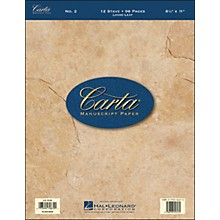 Hal Leonard Carta Manuscript Paper # 2 - Looseleaf, 8.5 X 11, 96 Pages, 12 Stave