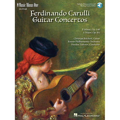 Music Minus One Carulli - Two Guitar Concerti (E Min Op 140 and A Maj Op 8a) Music Minus One BK/CD by Christian Reichert-thumbnail