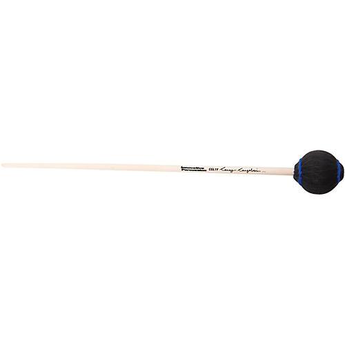 Innovative Percussion Casey Cangelosi Bass Marimba Mallets Heavy/Black Yarn Birch