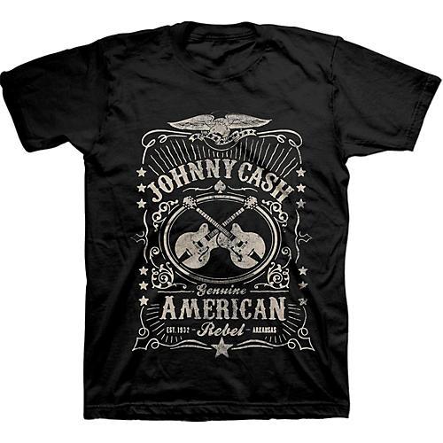 Johnny Cash Cash American Rebel Label X Large