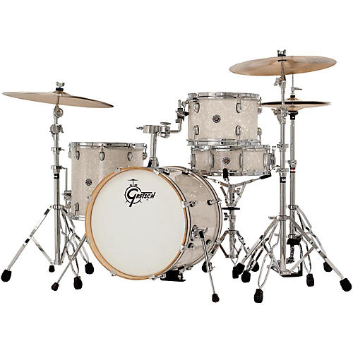 gretsch drums catalina club jazz 4 piece shell pack with 18 bass drum vintage marine pearl. Black Bedroom Furniture Sets. Home Design Ideas