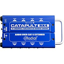 Radial Engineering Catapult 4-channel Cat 5 Audio Snake (RX4 Receiver Module)
