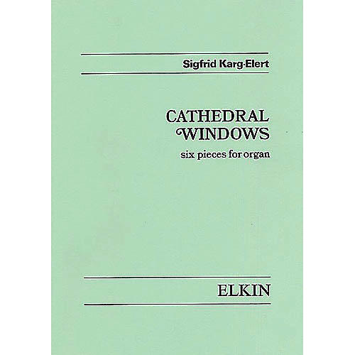 Novello Cathedral Windows, Op. 106 (for Organ) Music Sales America Series-thumbnail