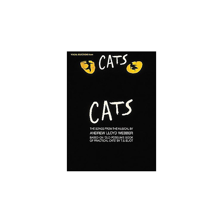 Hal Leonard Cats Vocal Selection From arranged for piano, vocal, and guitar (P/V/G)