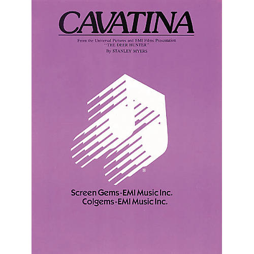 Hal Leonard Cavatina - From the Deer Hunter (Sheet Music)