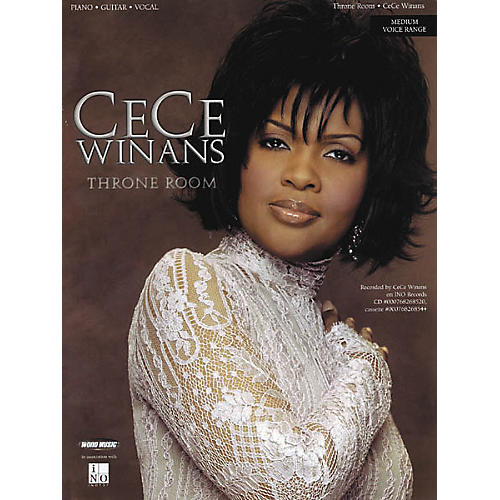 Word Music CeCe Winans - Throne Room Piano/Vocal/Guitar Artist Songbook-thumbnail