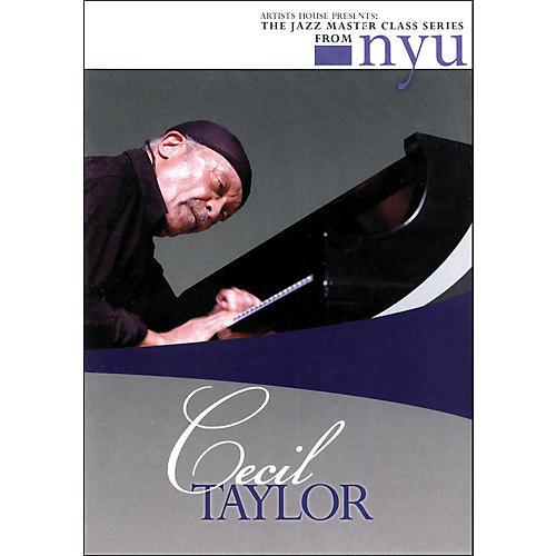 Hal Leonard Cecil Taylor - The Jazz Master Class Series From NYU (DVD)-thumbnail