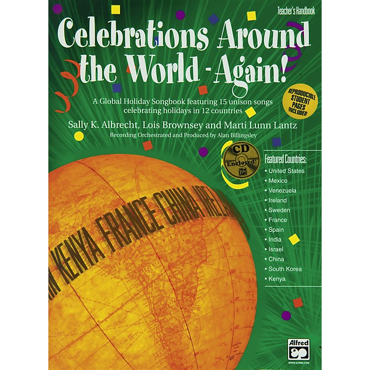 Alfred Celebration Around The World Again Book And Cd