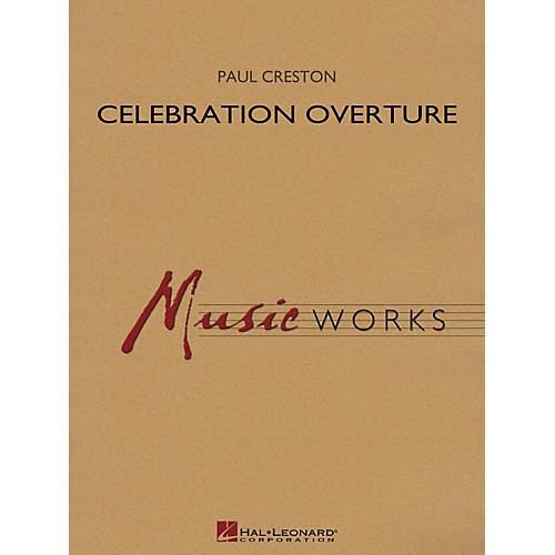 Hal Leonard Celebration Overture (Revised Edition) (Full Score) Concert Band Level 5 Composed by Paul Creston-thumbnail