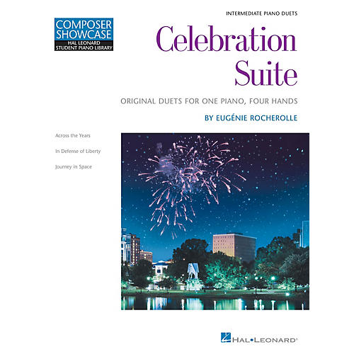 Hal Leonard Celebration Suite Educational Piano Library Series Softcover Composed by Eugénie Rocherolle-thumbnail