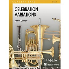 Curnow Music Celebration Variations (Grade 4 - Score and Parts) Concert Band Level 4 Composed by James Curnow