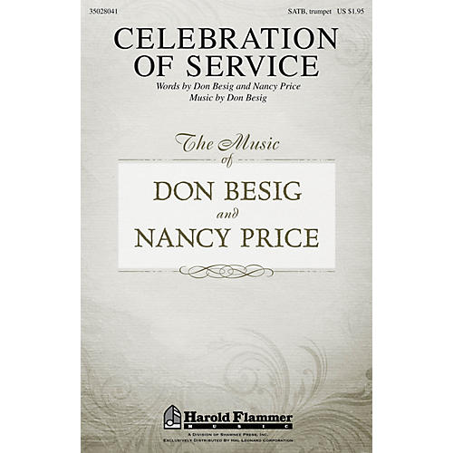 Shawnee Press Celebration of Service SATB composed by Don Besig-thumbnail