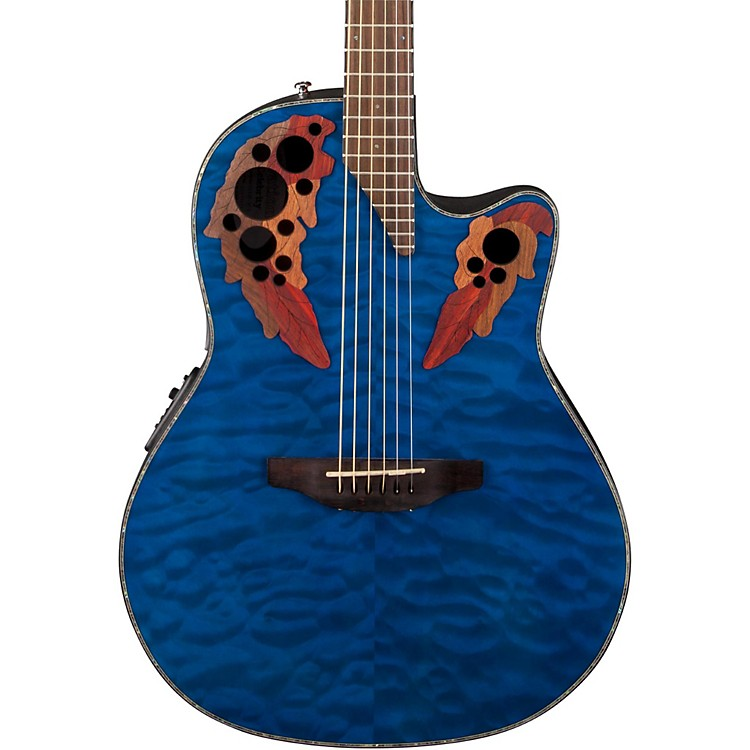 OvationCelebrity Elite Plus Acoustic-Electric Guitar
