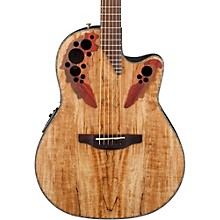 Celebrity Elite Plus Acoustic-Electric Guitar Spalted Maple Natural
