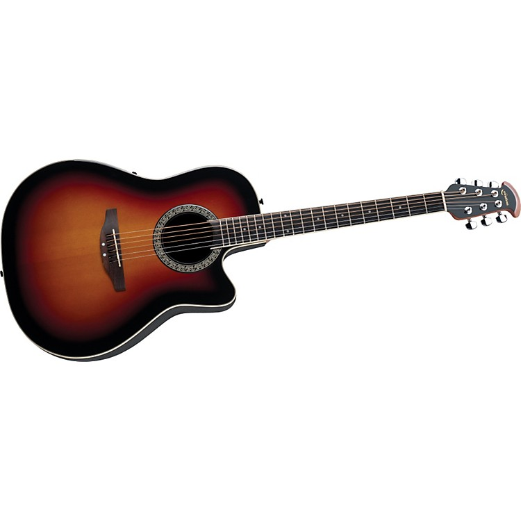 Ovation Celebrity Mid-Depth Acoustic-Electric Guitar