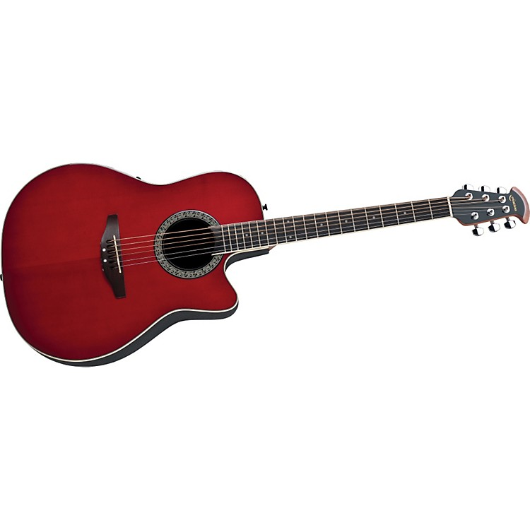 OvationCelebrity Mid-Depth Solid Top Acoustic-Electric Guitar