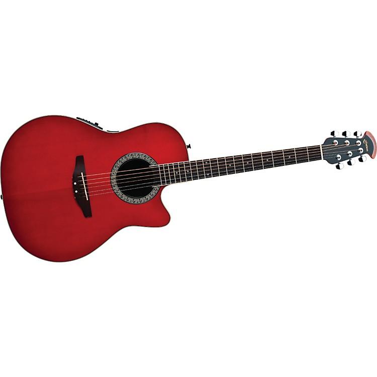 OvationCelebrity Mid-Depth Solid Top Acoustic-Electric GuitarHoney Burst
