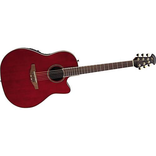 Ovation Celebrity SS Super Shallow Contour Acoustic-Electric Guitar-thumbnail