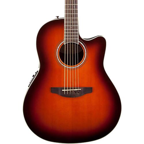 Ovation Celebrity Standard Mid-Depth Cutaway Acoustic-Electric Guitar Sunburst