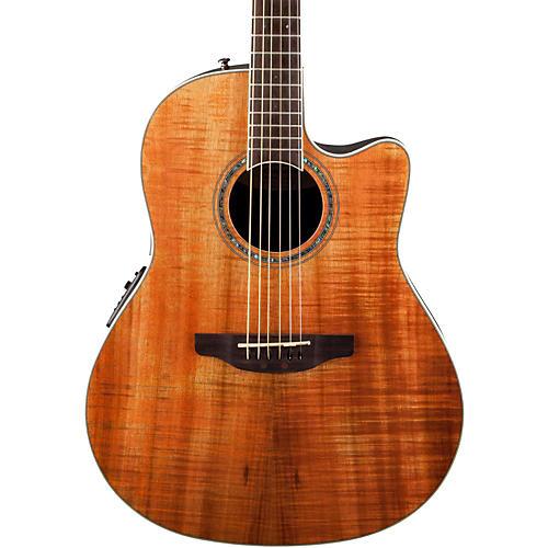 Ovation Celebrity Standard Plus Mid Depth Cutaway Acoustic-Electric Guitar-thumbnail