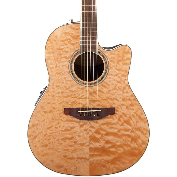 Amazon.com: Ovation CS24P-NBM Acoustic-Electric Guitar ...