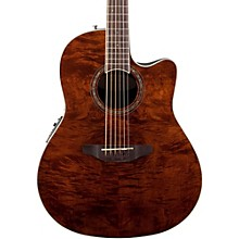 Celebrity Standard Plus Mid Depth Cutaway Acoustic-Electric Guitar Nutmeg Burled Maple