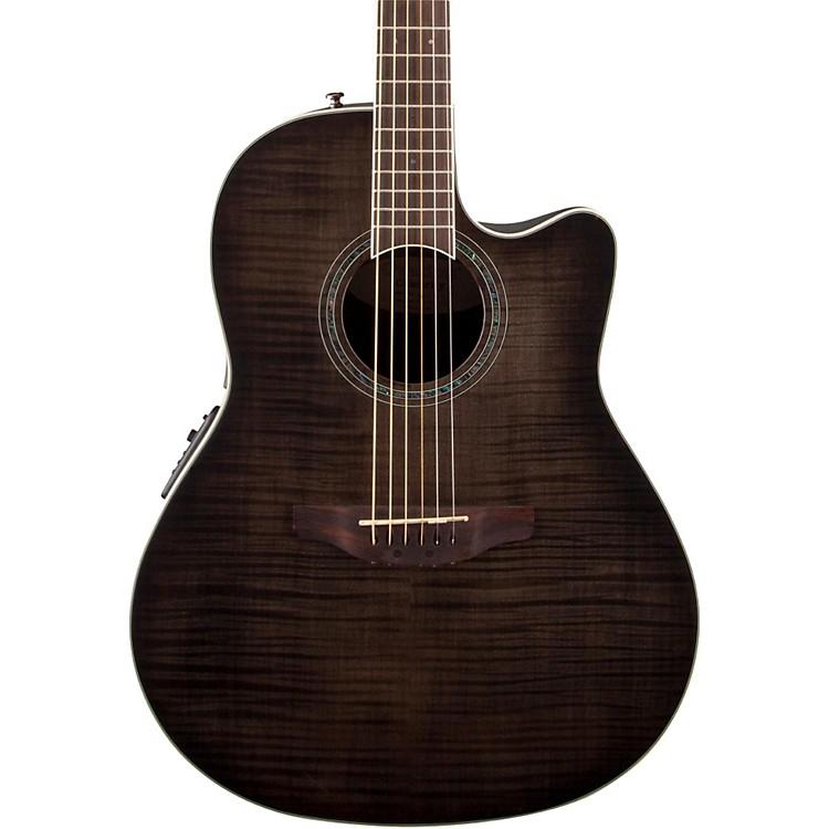 OvationCelebrity Standard Plus Mid Depth Cutaway Acoustic-Electric Guitar