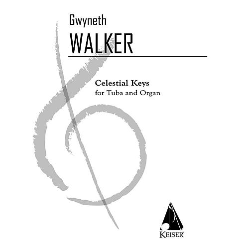 Lauren Keiser Music Publishing Celestial Keys (Tuba and Piano) LKM Music Series Composed by Gwyneth Walker-thumbnail