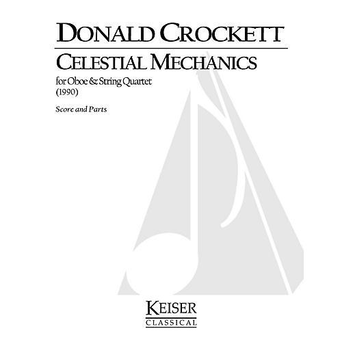 Lauren Keiser Music Publishing Celestial Mechanics (for Oboe and String Quartet) LKM Music Series by Donald Crockett-thumbnail