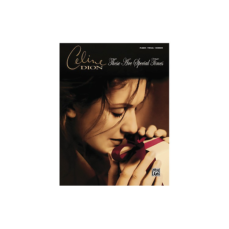 AlfredCeline Dion These Are Special Times PVC Book