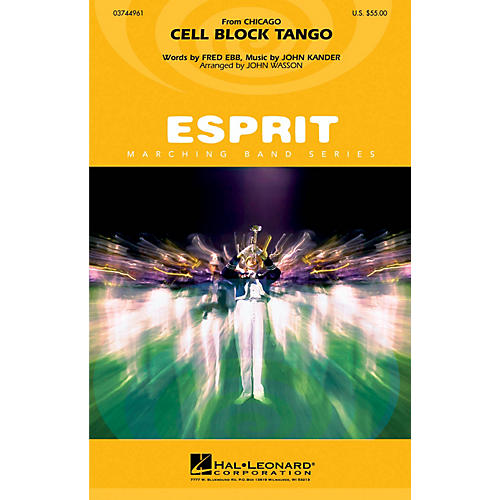 Hal Leonard Cell Block Tango (from Chicago) Marching Band Level 3 Arranged by John Wasson-thumbnail