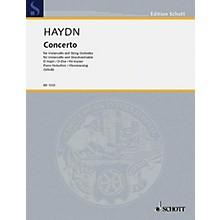 Schott Cello Concerto D Major Hob. 7b:4 (Cello and Piano Reduction) Schott Series