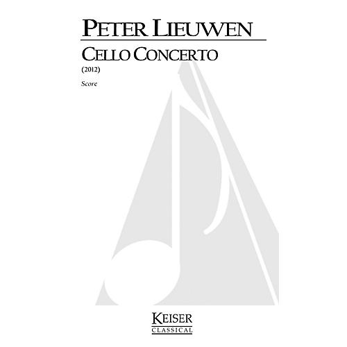 Lauren Keiser Music Publishing Cello Concerto (Full Score) LKM Music Series Composed by Peter Lieuwen-thumbnail