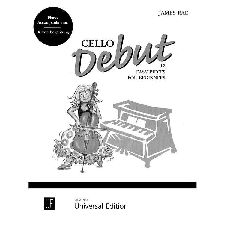 Carl FischerCello Debut (Book + CD)