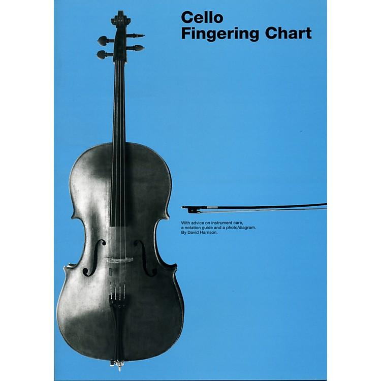 Hal LeonardCello Fingering Chart