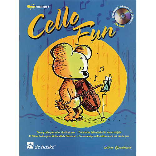 De Haske Music Cello Fun (15 Easy Cello Pieces for the First Year) De Haske Play-Along Book Series-thumbnail