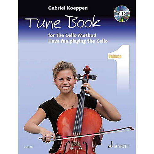Schott Cello Method - Tune Book 1 String Series Softcover with CD Written by Gabriel Koeppen-thumbnail
