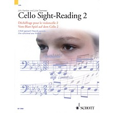 Schott Cello Sight-Reading 2 Misc Series Written by John Kember