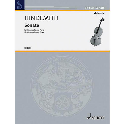 Schott Cello Sonata (1948) (Cello and Piano) Schott Series-thumbnail
