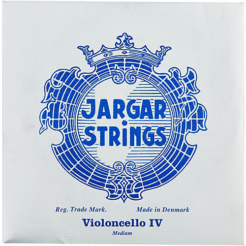 Jargar Cello Strings C, Medium 4/4 Size