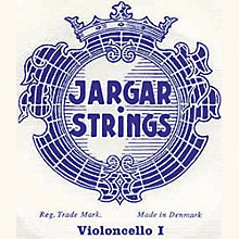 Jargar Cello Strings D, Medium 4/4 Size