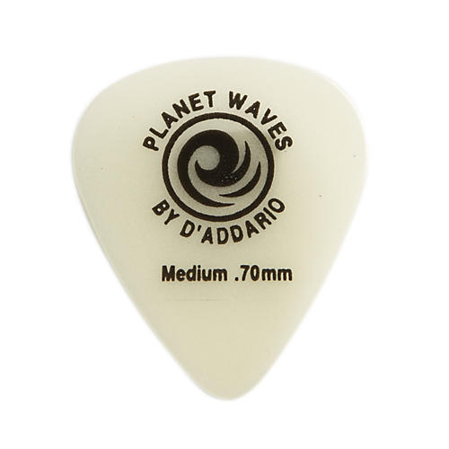 D'Addario Planet Waves Cellu-Glow Guitar Picks Medium 25 Pack